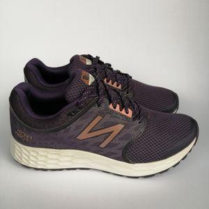 New Balance Fresh Foam Womens Purple Running Shoes